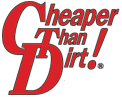 Cheaper Than Dirt Discount codes