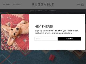 Ruggable Discount codes